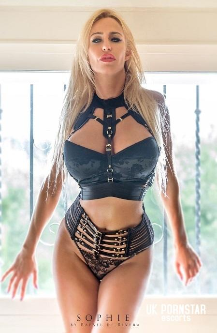 Sophie Evans from UK Pornstar Escorts